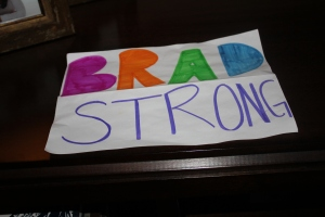 #bradstrong!